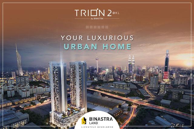 New property development Trion 2 by Binastra Land