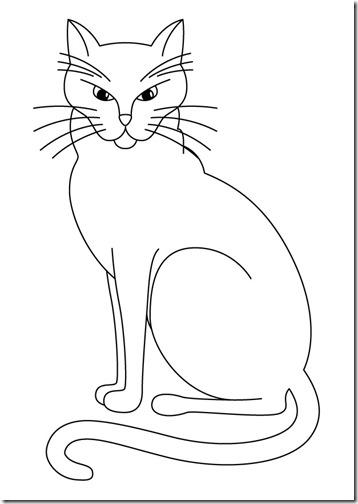 gatos colorear jugarycolorear (4)