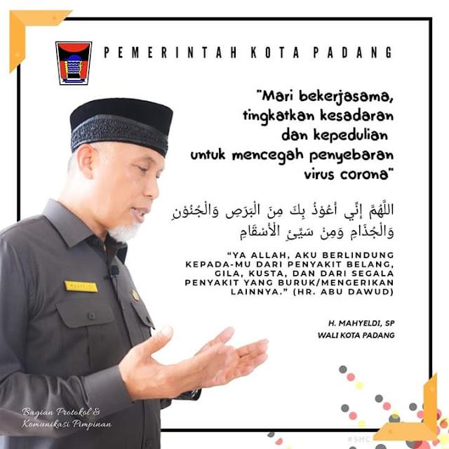 Atasi Wabah Covid-19, Pemko Padang Pindahkan Belajar Siswa Kerumah Masing-Masing