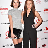 OIC - ENTSIMAGES.COM - Imogen Leaver and Jade Thompson at the  Britain's Next Top Model - UK TV premiere airing tonight at 9pm on Lifetime in London 14th January 2016 Photo Mobis Photos/OIC 0203 174 1069