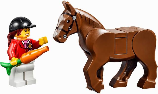 Nhân vật cô gái chăm sóc chú ngựa con đáng yêu trong bộ xếp hình Lego Juniors 10674 Pony Farm
