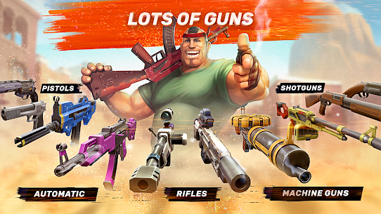 Guns of Boom 2.5.1 MOD [Unlimited Money] Apk 3