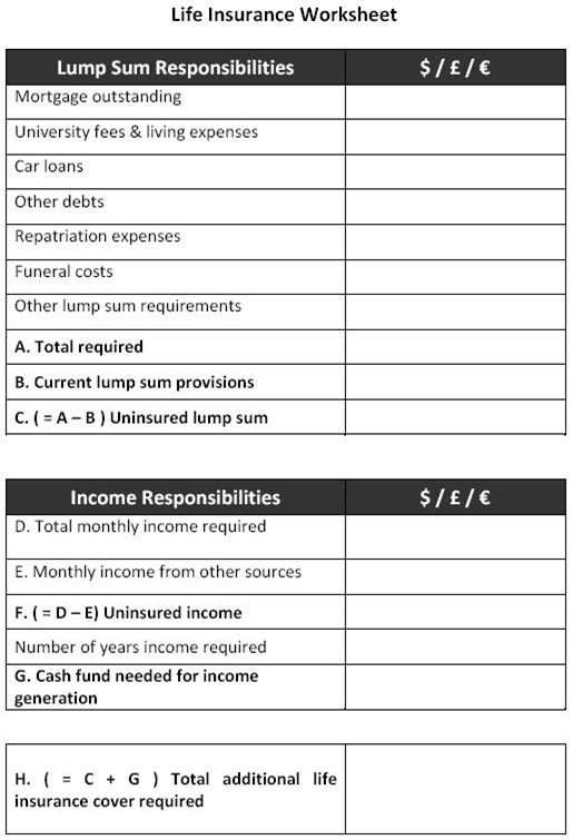 life-insurance-calculator-worksheet