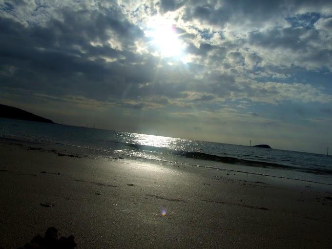 346 #海 #夏 #風景 #夕暮れ