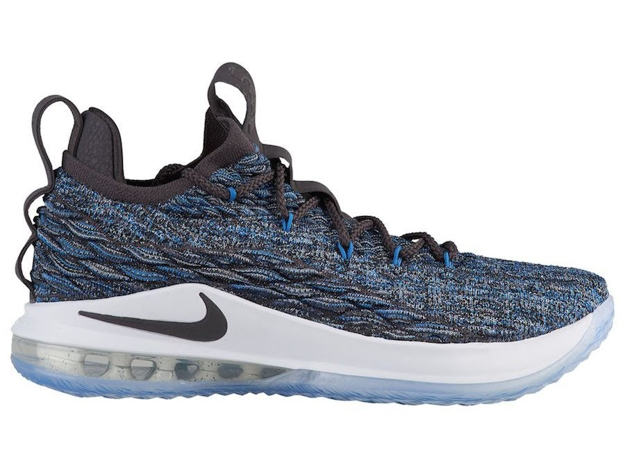 539ee096a5ef Signal Blue Nike LeBron 15 Low Drops on June 30th ...
