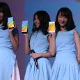 Shania (Shanju), Gracia, Ayana (Achan) JKT48 Xiaomi Redmi Note 5 Launching Jakarta 18-04-2018 014