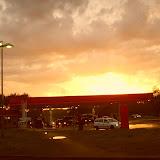 Sunset near Berlin