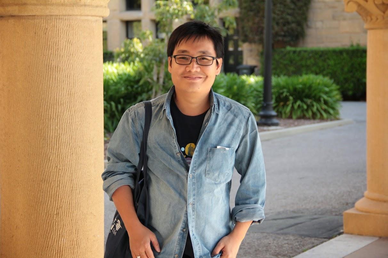 Tharum Bun at Stanford University campus