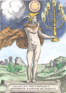 From Achille Bocchi Symbolicarum Quaestionem De Universo Genere 1574, Alchemical And Hermetic Emblems 1