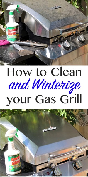 How to Clean and Winterize you gas grill