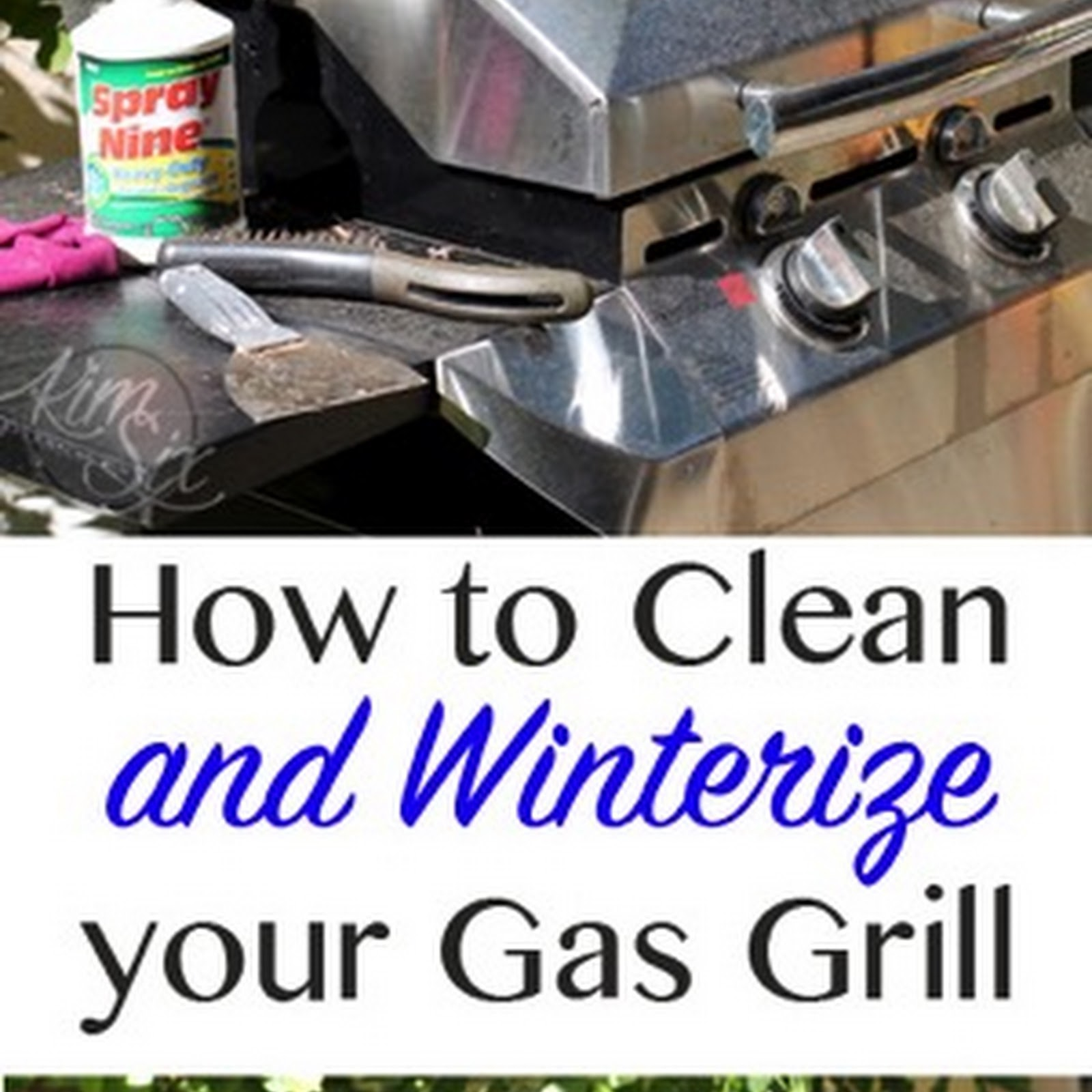 How to Clean and Winterize A Gas Grill