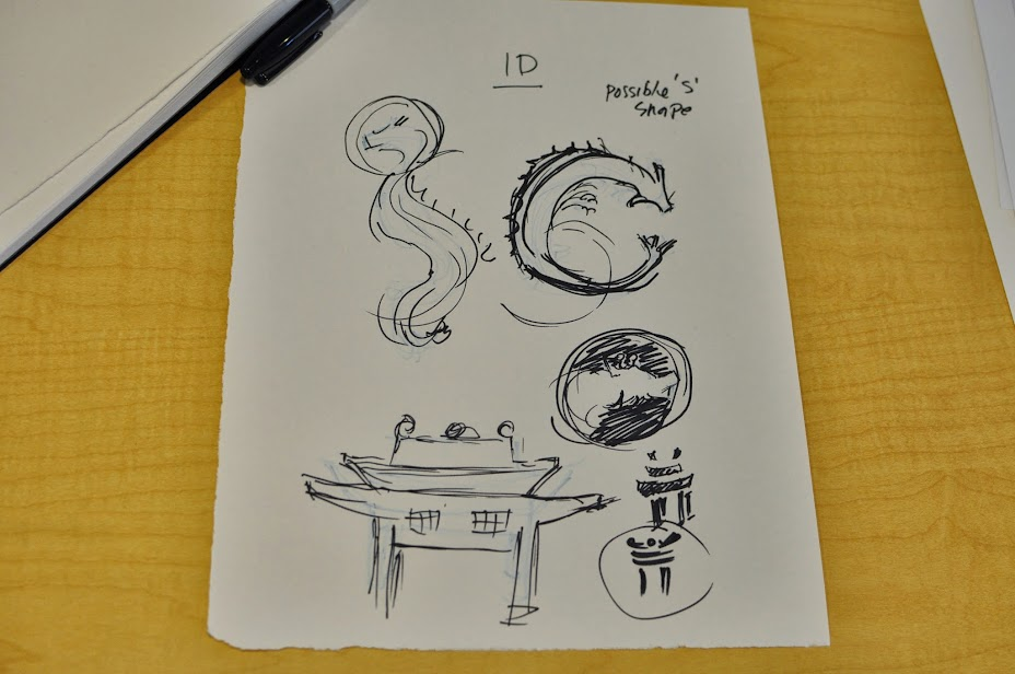 icon sketches