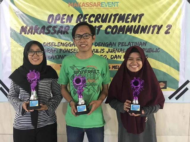 5 Hal Yang Bikin Saya Excited di Kegiatan Perekrutan Makassar Event Community Vol 2