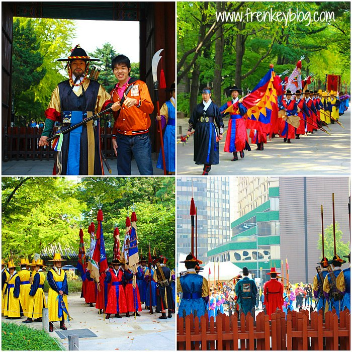 Royal Guard Changing Ceremony Deoksugung Palace