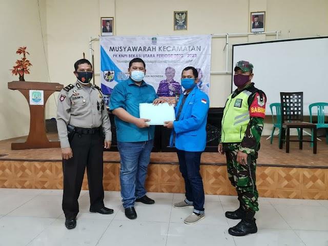 Wahyudi Terpilih Menjadi Formatur PK KNPI Kecamatan Bekasi Utara
