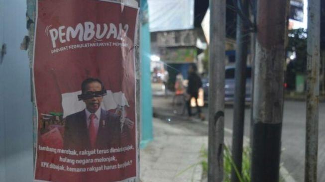 Poster Jokowi Pembual Tersebar di Tasikmalaya Gara-gara PPKM Darurat