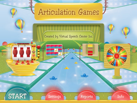 Articulation Games Main Page