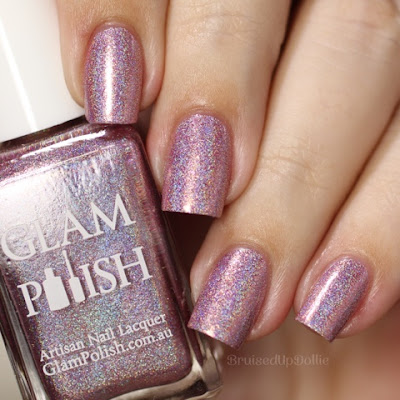 Glam Polish Pink Gold Peach