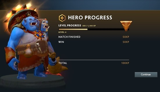 Hero Progress