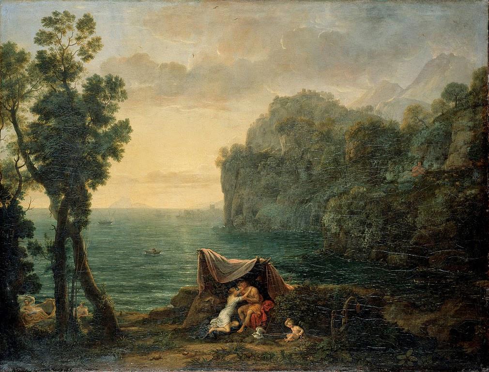 Claude Lorrain - Landscape with Acis and Galatea - Google Art Project