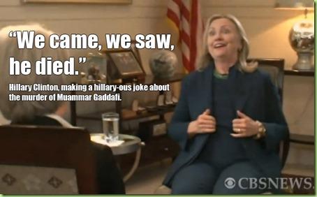 clinton Qaddafi
