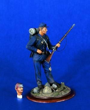 Conversão: um Yanque por um Soldado Imperial Brasileiro 120mm Aaaa