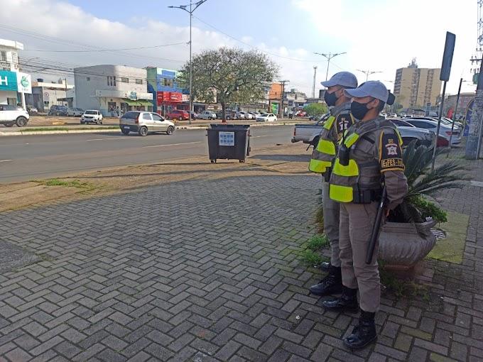 Alunos soldados da Brigada Militar ajudam a reforçar o policiamento em Cachoeirinha