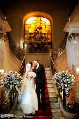 Foto do casamento de Daniele e Kenneth. Julieta de Serpa, Rio de Janeiro, RJ.