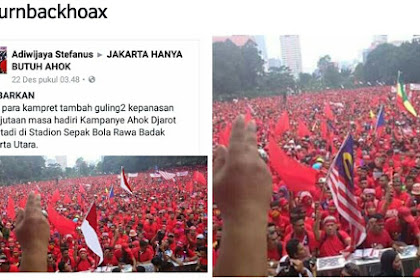 Lihat Nih, Kelakuan Buzzer Ahok... Cara Mereka Menipu Netizen Dengan Foto Hoax