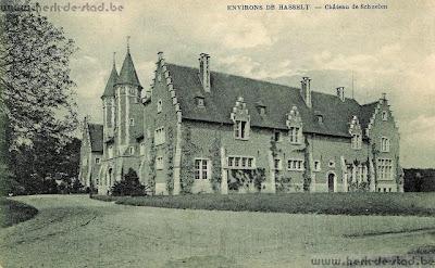 Herk-de-Stad, Berbroek: kasteel Gasterbos- kasteelhoeve