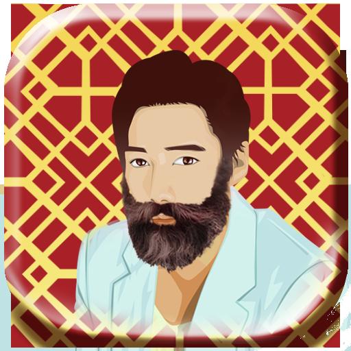鬍鬚 照片編輯 美髮沙龍 攝影 App LOGO-硬是要APP