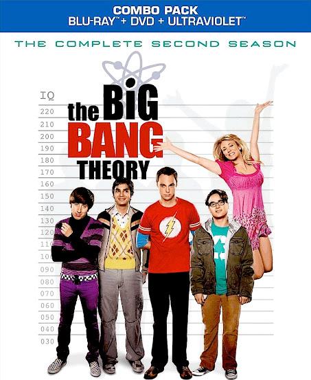 The Big Bang Theory – Temporada 2 [BD25]