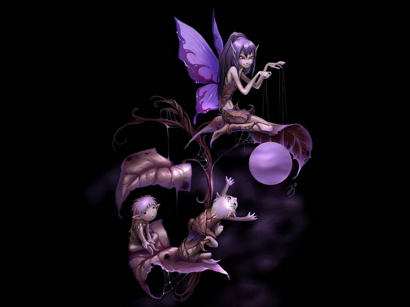 Young Sprite Of Life, Fairies 1