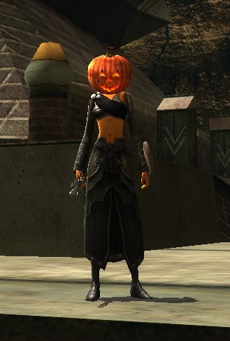 Thaz pumpkin head