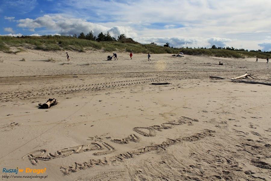 Ruszaj w Drogę na plaży w Czolpinie