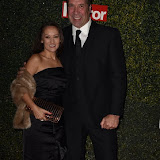 OIC - ENTSIMAGES.COM - Frankie Poultney and David Seaman at the  Daily Mirror Pride of Sport Awards  London 25th November 2015 Photo Mobis Photos/OIC 0203 174 1069