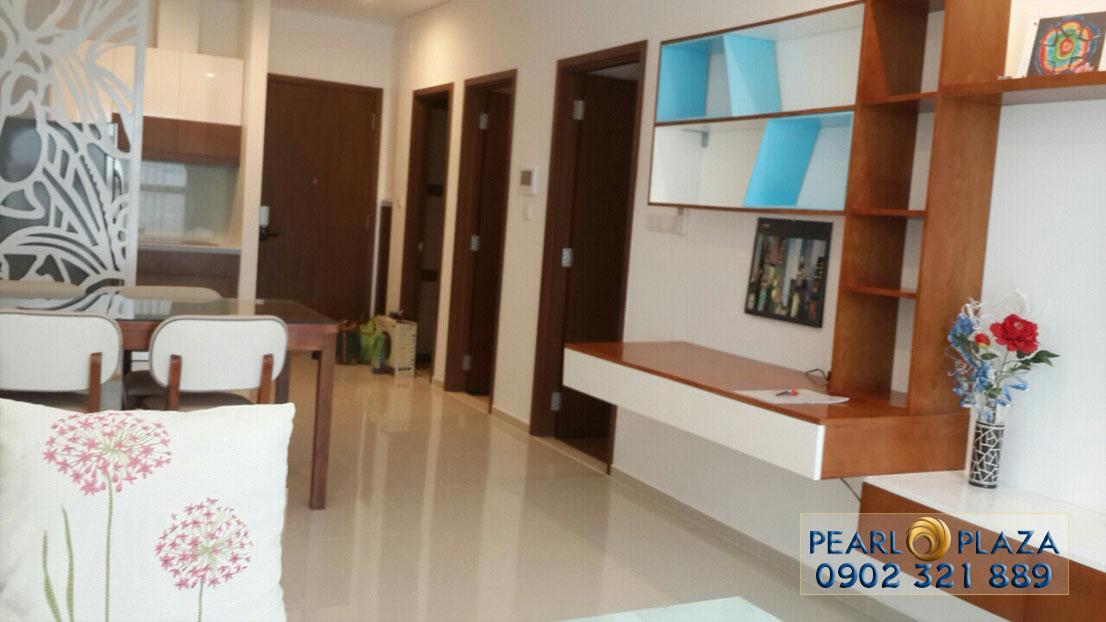 căn hộ Pearl Plaza 1 phòng ngủ cho thuê