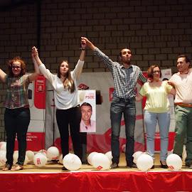 Mitin PSOE en Barbaño