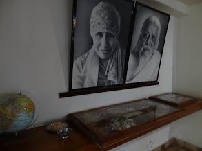 Photo: La mère et Sri Aurobindo