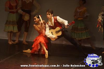 Fronteira da Paz �vive� momentos de emo��o e encantamente com o Ballet Nacional de Sodre, dias 22 e 23 de Setembro no Teatro Municipal