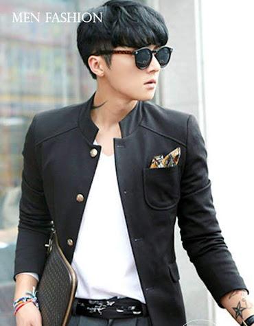seven domu sk15 blazer hitam korea