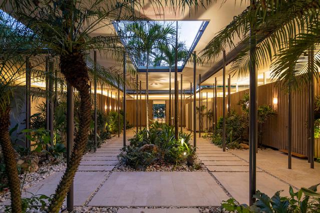 Ngôi biệt thự nghỉ dưỡng hiện đại Sirena House