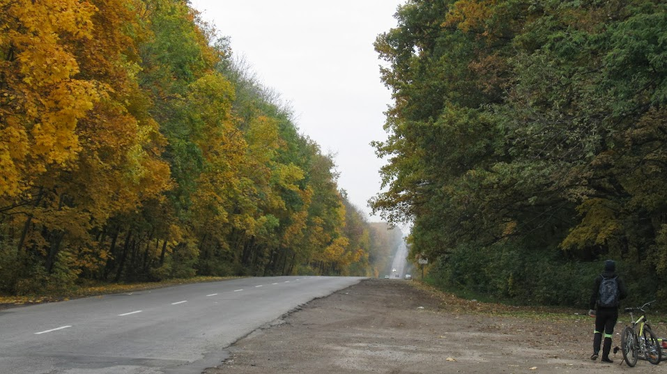 дорога Богодуховский район