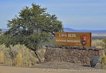 Lava Beds NM Sign