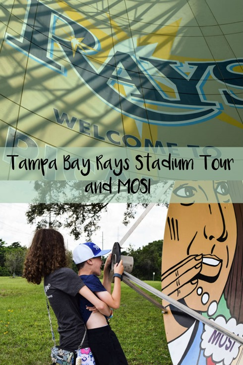 Tampa Bay Rays Stadium Tour and MOSI