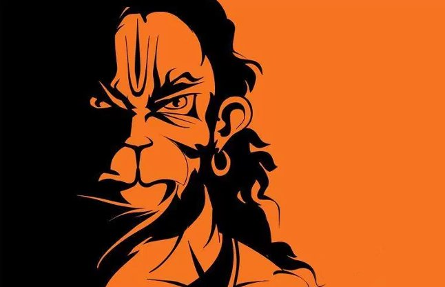 the life with editings story behind angry hanuman ji 39 s tattoo. Black Bedroom Furniture Sets. Home Design Ideas