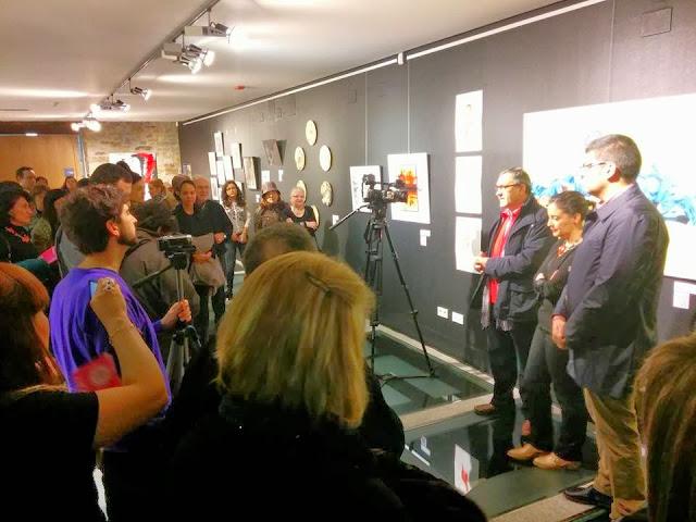 Inauguración de Ahora Nosotras, Exposición en el Museo de Cacabelos