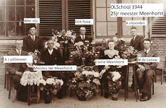 Photo: Meester Meenhorst 25 jaar Openbare Lagere School