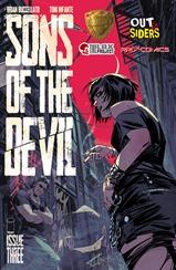 Actualización 07/08/2017: Heisenberg y Huascaj nos traen el numero 3 de Sons of The Devil. Tercera parte de lo que sera un arco de 5 partes.