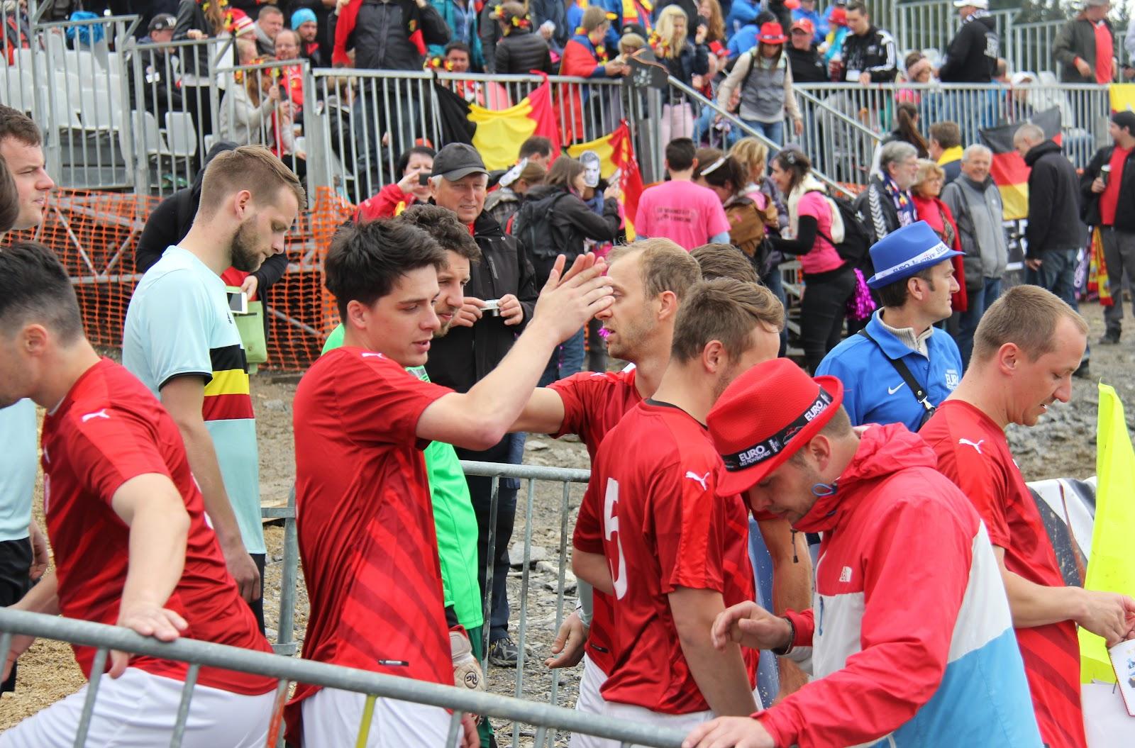 EURO 2016 - Morzine: Den třetí - Belgie